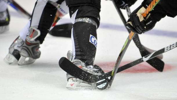 Bundesligaspiel Eishockey - Frankfurt Lions gegen Panther Augsburg