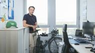 Umgestiegen: Hannes Blank tauschte mit 26 Jahren das Leben als Radprofi gegen ein Studium ein.