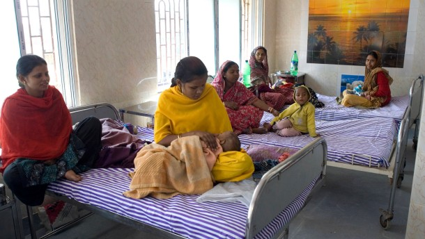 F.A.Z. Leser helfen - Die Kinderstation, die mit Hilfe des Spendenprojekts im indischen Kalkutta eingerichtet wurde, wird eröffnet.