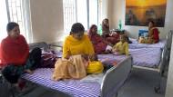 Die neue Kinderstation am Rande Kalkuttas: Helle Räume, freundlich gestaltet.