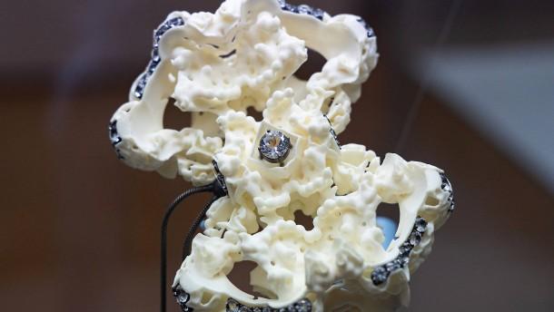 Mondstaub aus dem 3D-Drucker