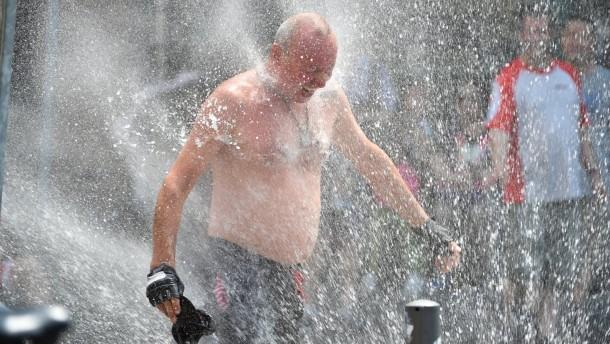 Hessen erreicht Fiebertemperatur