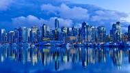 Motiv 1: Die Skyline von Vancouver, Kanada