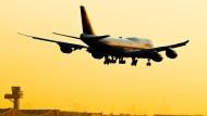 Weniger Passagiere, Fracht und Flüge im September