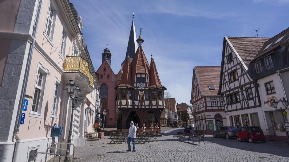 Beschaulich: Michelstadt im Odenwald