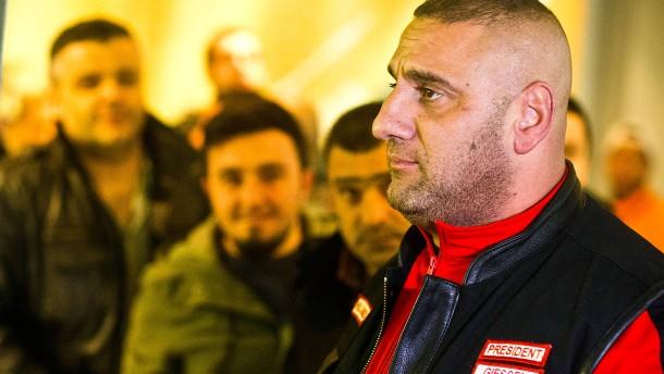 Erschossener Rocker-Chef wird in Gießen beigesetzt