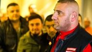 Soll am Mittwoch beigesetzt werden: der erschossene Gießener Hells-Angels-Präsident Aygün Mucuk - hier ein Foto aus den Februar 2016