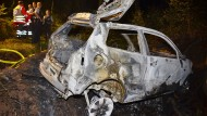 Tragisch: In diesem Auto starb vor vier Wochen bei Rudersberg ein Insasse, wie jetzt nahe Kalbach ebenfalls nach einem Unfall