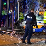 Bei dem Busunfall im November vergangenen Jahres wurde ein Mann getötet, weitere 28 Menschen wurden verletzt.