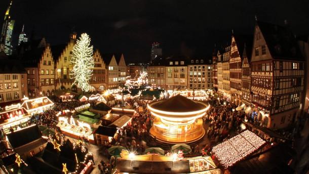 In Hessen eröffnen die ersten Weihnachtsmärkte