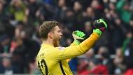 Willkommen Bremen: Torwart Felix Wiedwald ist bei Werder erst spät zu einem gefragten Führungsspieler geworden.
