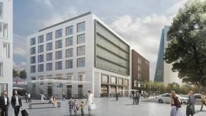 Das Frankfurter Ostend wird umgebaut