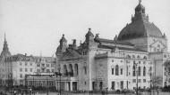 Bis auf den Kern verschwunden: das alte Schauspielhaus