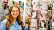 Gestaltet jüdische Festtagskarten und verkauft sie weltweit: Yael Ungar