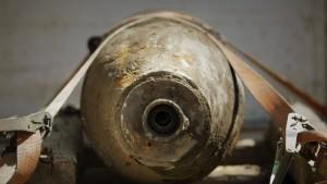 Scharfe Fliegerbombe entdeckt