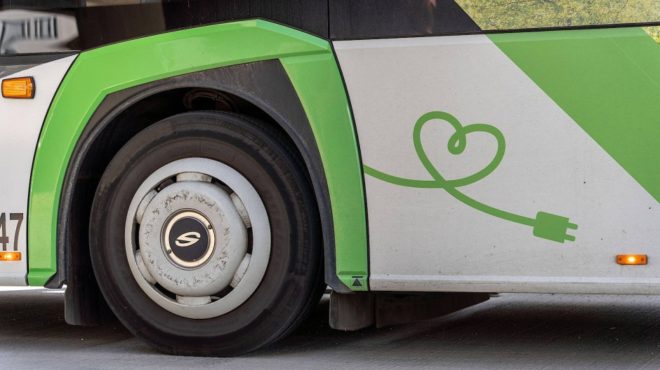 Stromer: E-Bus in Offenbach