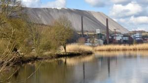 Die Weser soll eher von Salz entlastet werden