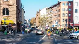 Eine Straße für Radler