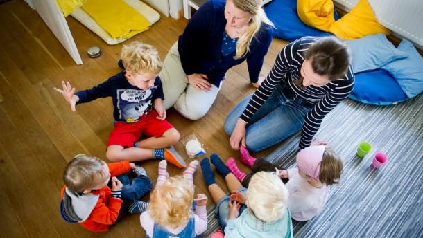 Tagesmütter würden gerne mehr Kinder betreuen