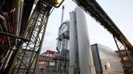 Gilt als Standortretter: Braunkohlestaub-Kraftwerk in Frankfurt-Fechenheim