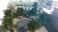"""Zukunftsmusik: So soll der """"Paradieshof"""" nach dem Konzept der European School of Design bald aussehen"""