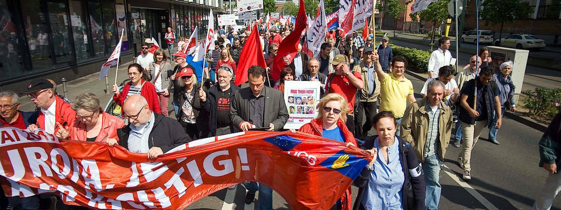 DGB Frankfurt will am 1. Mai auf die Straße gehen