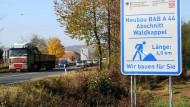 Ende der Unsicherheit: Die Autobahn 44 in Nordhessen kann weitergebaut werden