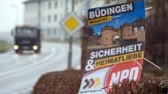 Fraktionsgeld für NPD: Büdingen lässt nicht locker