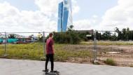 """Neue Chancen für Brachflächen: Unbebaute Grundstücke wie das Honsell-Dreieck im Frankfurter Ostend können als """"urbanes Gebiet"""" entwickelt werden."""