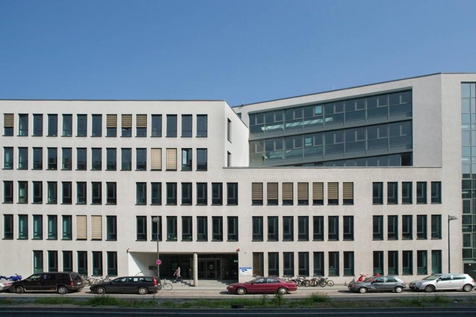 """Neue Heimat: Der Verlust der """"Vobi"""" am Eschenheimer Tor schmerzte. Seit 2005 hat die VHS ihren Sitz im Bildungszentrum Ostend."""
