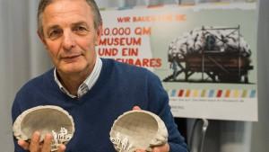 Charly Körbels Gehirn für Senckenberg gescannt