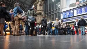 Verspätungen am Frankfurter Hauptbahnhof