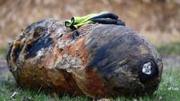 Weltkriegsbombe in Dillenburg entschärft