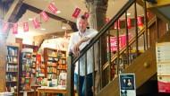 In der Buchhandlung seines Vertrauens: Andreas Maier bei Bindernagel in Friedberg