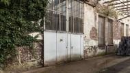 Vor Umbau: alte Maschinenfabrik Hau in Offenbach