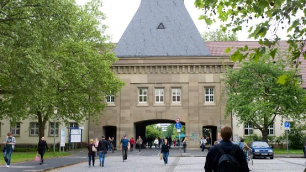 Universität Mainz - die neuen und alten Gebäude auf dem Campus der Johannes Gutenberg Universität