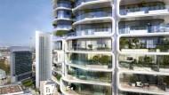 """Arbeitstitel """"Tower 2"""": Wohnturm im Europaviertel am Skyline Plaza"""
