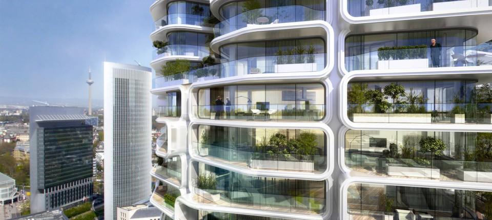 Mit Grand Tower In Frankfurt Wächst Angst Vor Immobilienblase