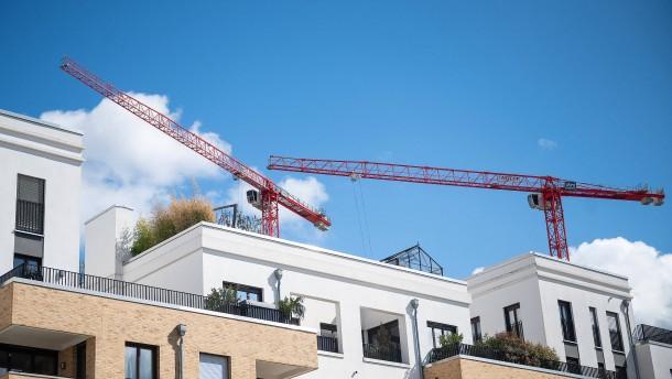 So niedrig war die Bausumme in Frankfurt seit Jahrzehnten nicht