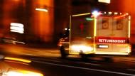 Verletzte durch Unfälle nach plötzlicher Glätte