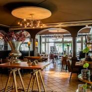"""Restaurant im Seehotel Niedernberg:  Das ehemalige """"Rivage"""" heißt jetzt """"Elies"""" und serviert eine sogenannte """"Vitalküche""""."""