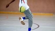 Kicken, ohne Angst zu haben