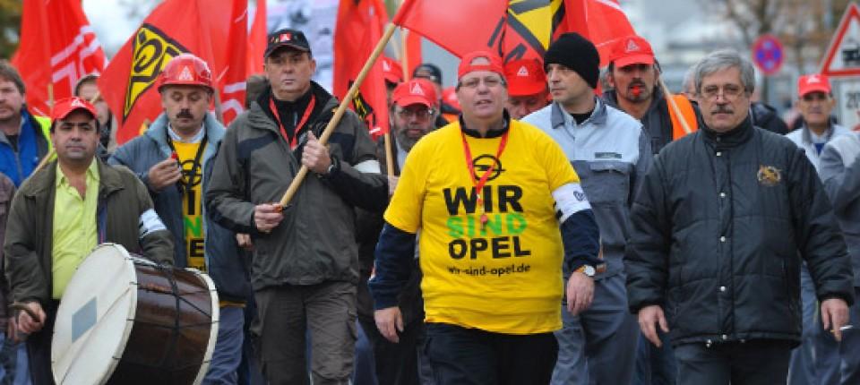 warnstreik in rüsselsheim: betriebsrat fordert mehr eigenständigkeit