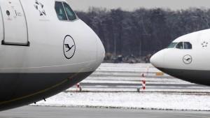 Flugbetrieb in Frankfurt normalisiert sich nach Wintereinbruch
