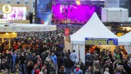 Immer was los: das Schlossgrabenfest in Darmstadt im Jahr 2014