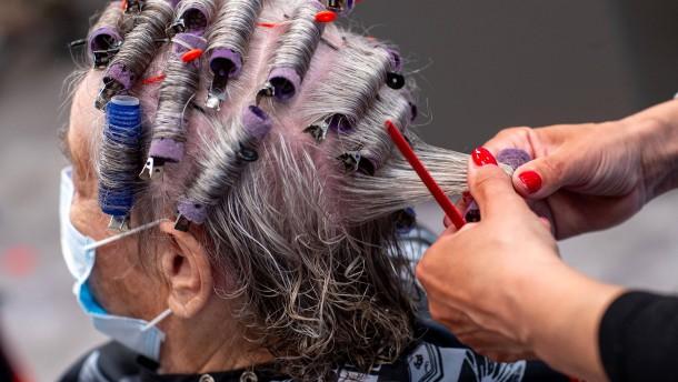 Friseuren geht die Puste aus