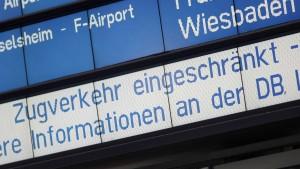 Bahn will langsam zum Regelfahrplan zurück