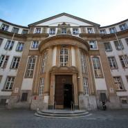 Prozess im Landgericht Frankfurt: Ein Mann soll seine Stiefkinder missbraucht haben.