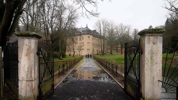 Polizei sucht Motiv für Schüsse im Wächtersbacher Schlosspark