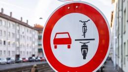 Verwirrende Vorfahrt für Radfahrer